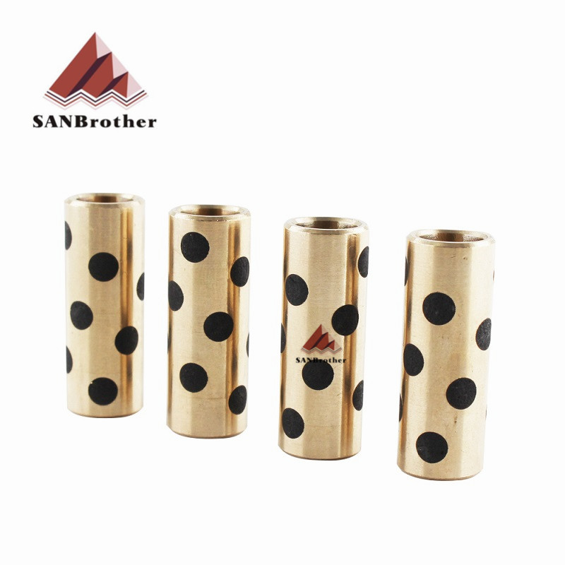 3D Printer Part Accessories Upgrade Ultimaker 2 + UM2 Extended+ Graphite Copper Sleeve Sintered Bushing Self Lubricating Bearing