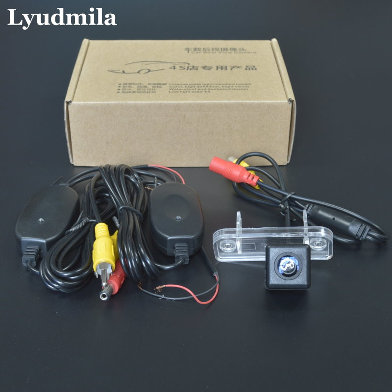 Lyudmila Wireless Camera For Mercedes Benz SLK R171 2004~2011 Reversing Camera Car Rear View Camera / HD CCD Night Vision