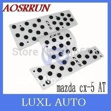 2012 2013 2014 2015 for Mazda CX-5 CX 5 aluminum alloy gas pedal break pedal accelerator pedal CX-5 car accessories