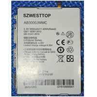 SZWESTTOP original AB3000JWMC battery For philips X586 cellphone AB3000JWMC Batterie for XENIUM CTX586 smart phone