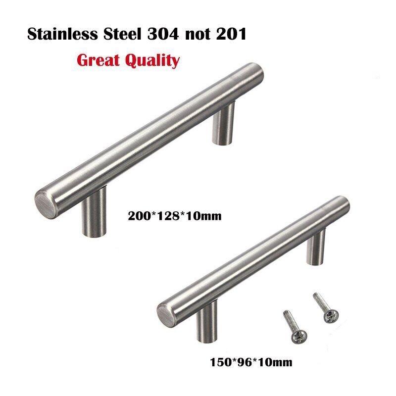 Stainless Steel 304 T Bar Door Handle Cabinet Knobs