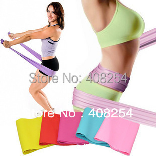 Latex Fitness Flat 3 Widerstand BAND Elastic Stretch Band Yoga - Fitness und Bodybuilding