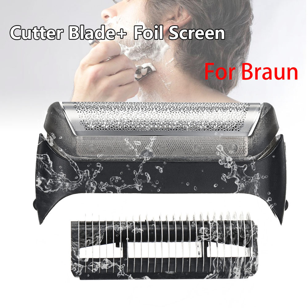 Hot New Shaver Blades Cutter Head & Foil Replace For Braun 10B Series 190 180 170 1735 HY99 JA15