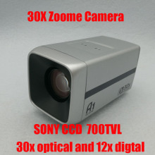 1/3″ 700TVL Sony CCD 360x zoome camera  30x Optical 12X digital zoom   CCTV  Zoom Camera  Free Shipping
