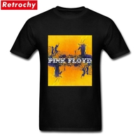 Thrash Metal Pink Floyd More T Shirt Men S Short Sleeve Cotton Yellow Band Tees Poster