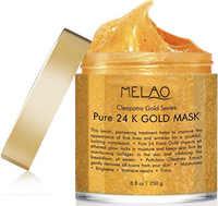 24 K Gold Gesichts Maske Maske für Anti Falten Anti Aging Gesichts Behandlung Pore Minimizer Akne Narbe Behandlung Mitesser Entferner