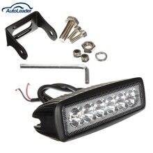 1620LM Mini 6 Pulgadas 18 W 12 V 6 LED Barra Ligera del Trabajo del LED Lámpara de luz de trabajo para la Navegación/Caza/Pesca/Truck/ATV/SUV 4×4 4WD