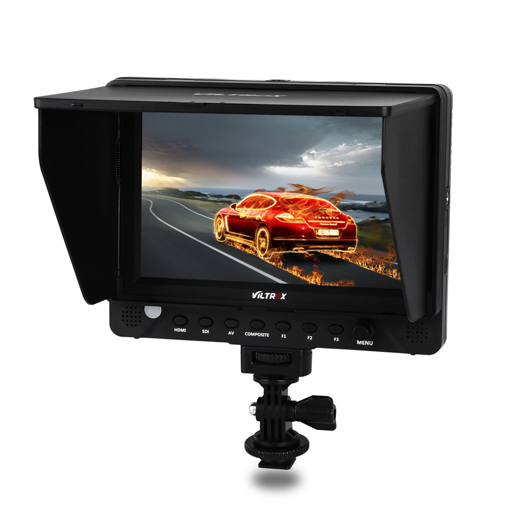 Viltrox DC-70PRO 4K 7'' Camera Video Monitor Display IPS HD SDI/HDMI/AV 1920x1200 Pixels for Canon Nikon Sony DSLR BMPCC