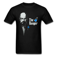 Drug Dealer Heisenberg Breaking Bad Poison Tshirt Character Chemicals BlueMeth Ice Master Men Tops T Shirt Pure Cotton Clothes