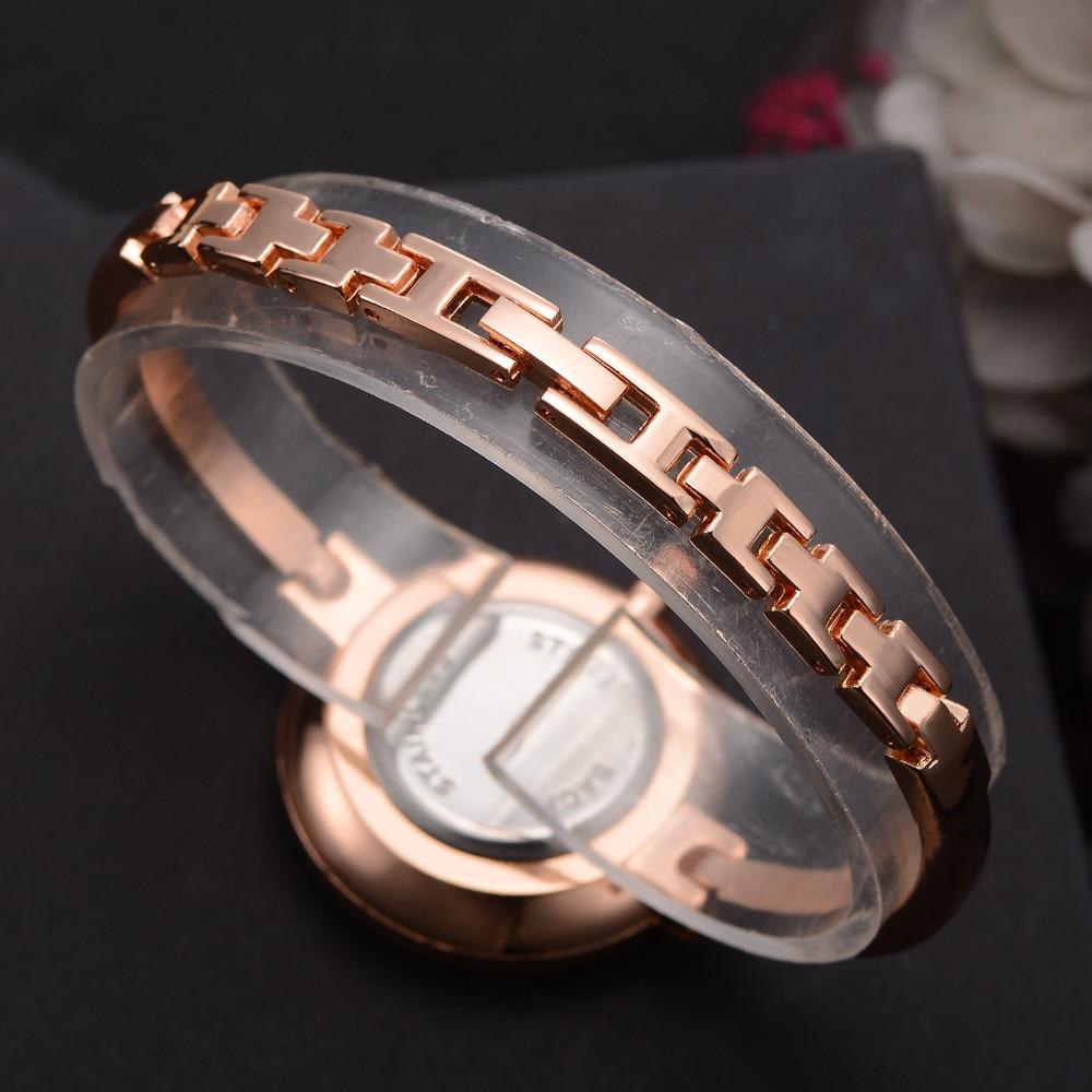 Lvpai rose goud vrouwen armband horloges mode luxe quartz-horloges - Dameshorloges - Foto 3
