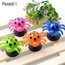 Детская Весенняя игрушка, прыгающий паук, яркий, веселый, прыгающий паук, антистрессовый, случайный цвет, 2 шт., реквизиты для любимцев, подарки, вечерние
