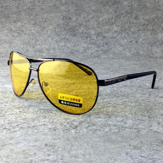 4aacc79a6dc HD High Definition Sunglasses Night Vision Glasses Driving Yellow Lens  Classic glasses Googles