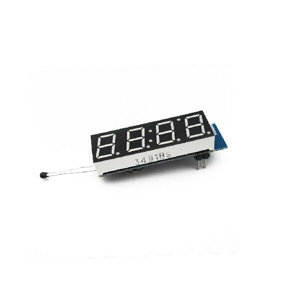 Single chip clock module of digital electronic clock 4 in one car clock LED digital tube electronic clock clock