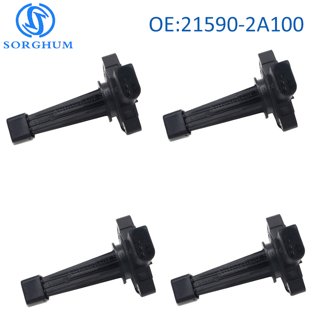 4PCS 21590 2A100 215902A100 Engine Oil Level Sensor 09 12 For Hyundai i40 i30 Santa FE
