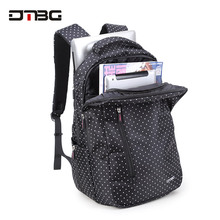 Backpack Student Fashion College Waterproof Nylon Backpack M