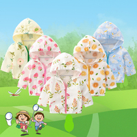 Fafami Baby Summer Coat Anti  mosquito Coat 0 3T Newborn Baby UV Protection Out Wear Cotton Gauze new born Hooded Jacket Kids|Jackets & Coats|Mother & Kids -