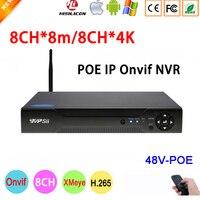 8mp, 5mp, 4mp, 3mp, 2mp, 1mp IP Камера Dahua Панель Hi3536C Xmeye 8CH * 8 M/8CH * 4 K 8 канальный H.265 + 48 V WI FI PoE ONVIF NVR Бесплатная доставка