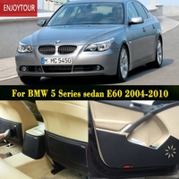 Car Pads Front Rear Door Seat Anti Kick Mat Car Styling Accessories For BMW 5 Series