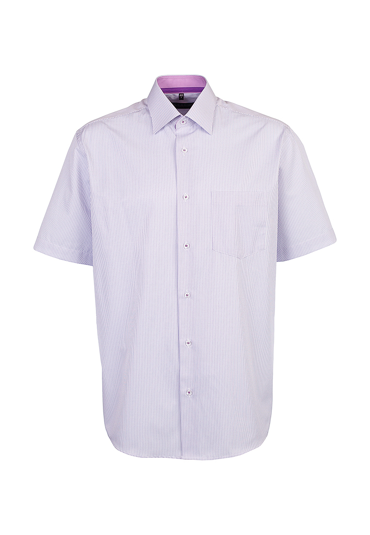 Shirt men's short sleeve GREG 171/309/118/1 Lilac 3d letters and banknote printed round neck short sleeve men s t shirt