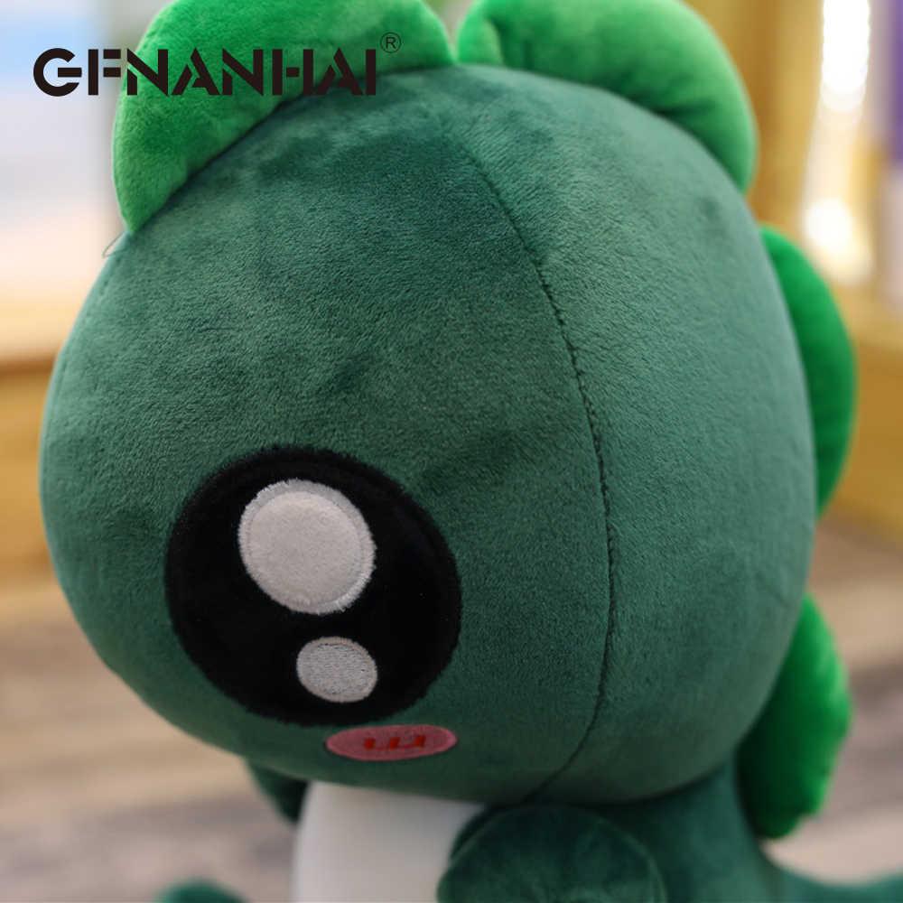 1 pc kawaii 25/30 cm Pequeno Monstro de brinquedo de pelúcia bonito mini bonecos de dinossauro bebê crianças dedo de pelúcia macia brinquedos belo presente de aniversário