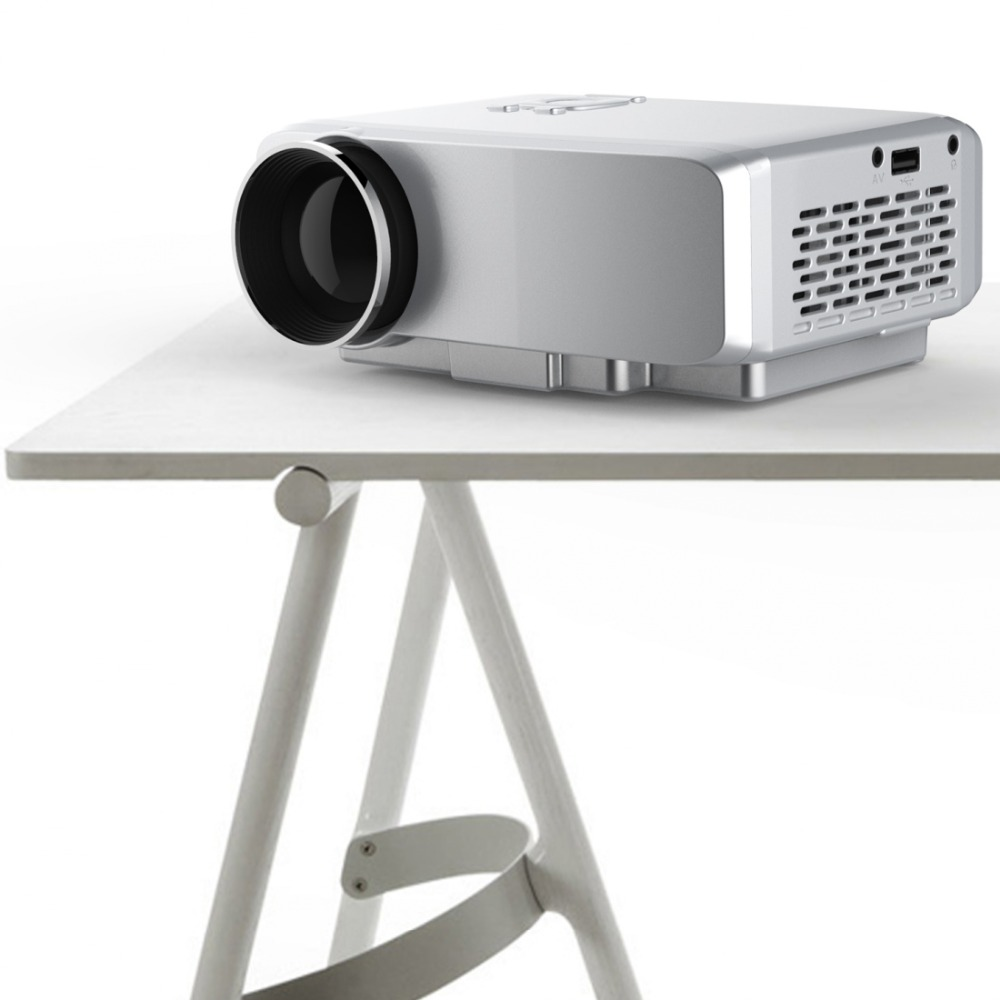 ФОТО 3Pcs/Lot, DHL Free Ship Hot 1080P 1.07 Billion True Color HD Mini Portable Size 800 Lumens LED Projector Home Theater Projector