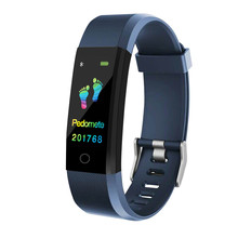 DOOLNNG Smart Watch Health Monitor Heart rate/Blood Pressure/Pedometer Bluetooth