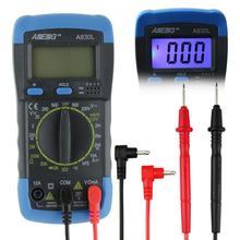 ANENG A830L цифровой мультиметр ЖК-Цифровой Мультиметр AC DC Напряжение Диода-Частотных Multitester