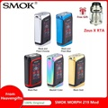 Бесплатно Zeus X <font><b>RTA</b></font>! SMOK MORPH 219 сенсорный экран TC коробка мод w/291 W выход и 0,001 S пожарная скорость без 18650 батареи мод коробка Vs Gen MOD