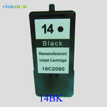 Black For Lexmark 14 Cartridge for lexmark 14 For Lexmark Z2300 Z2320 X2650 X2600 X2670 Printer ink все цены