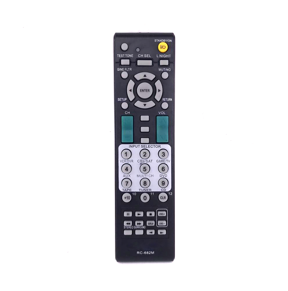 New For ONKYO RC 682M Audio Video Receiver Remote Control RC682M RC 681M RC 606S Manual