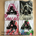 Palace T Shirt Men Real Picture 3M Reflective Palace Skateboards 100% Cotton Classic Triangle T-shirts Women Tee Palace T Shirt