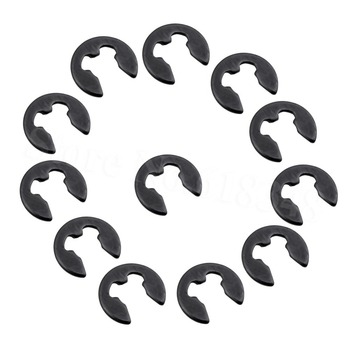 12pcs E-Clip 2.5mm For HSP 1/10 RC Car Spare Parts Hardware Redcat Exceed Himoto Team Associated Axial Traxxas Model 02037 image