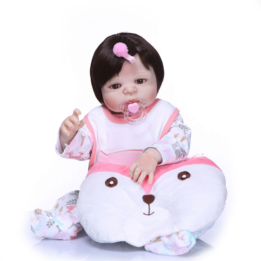 23 Full body silicone vinyl reborn Toy Lifelike Medical mold Real touch bebe alive infant dolls baby Child play house briquedos23 Full body silicone vinyl reborn Toy Lifelike Medical mold Real touch bebe alive infant dolls baby Child play house briquedos