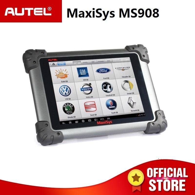 Autel MaxiSys MS908 автоматический диагностический сканер Беспроводной Инструменты для ремонта автомобилей оборудование для диагностики автомоби...