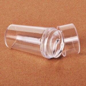 Image 5 - Biutee прозрачный стемпинг нового стиля силиконовый штамп для ногтей скребок с топом прозрачная 2.9 см ногтей штамповка инструменты для маникюра