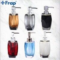 FRAP liquid soap dispensers soaps pump imported resin Bottle Bath Shower Accessories soap dispensers bottles
