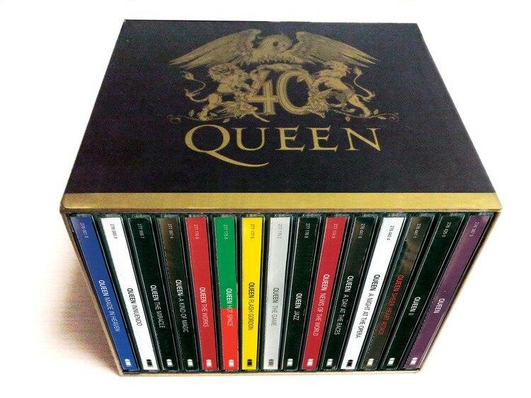 Die Königin 40th Anniversary 30 CD Box Set Broschüren Vollständige Sammlung Fabrik Versiegelte Limited Edition kostenloser versand