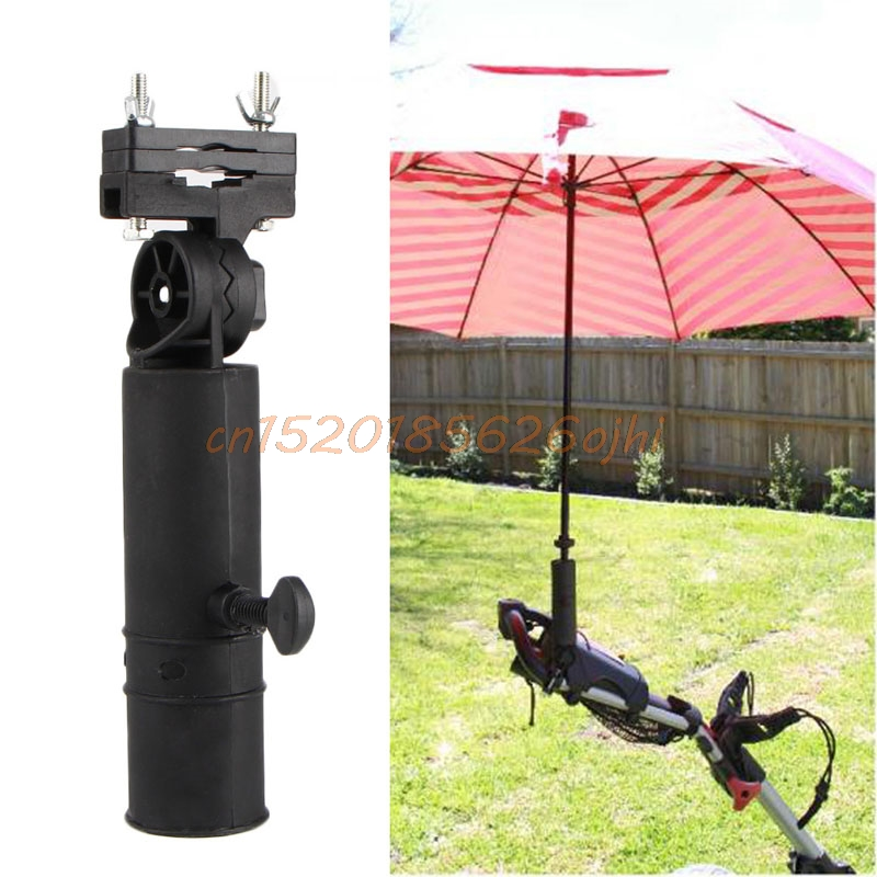 Durable <font><b>Golf</b></font> Club <font><b>Umbrella</b></font> Holder <font><b>Stand</b></font> For Bike Buggy Cart Baby Pram Wheelchair image