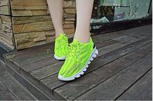 Free shipping!!!  new European and American women's shoes increased within the breathable mesh shoes comfortable cushion fashion