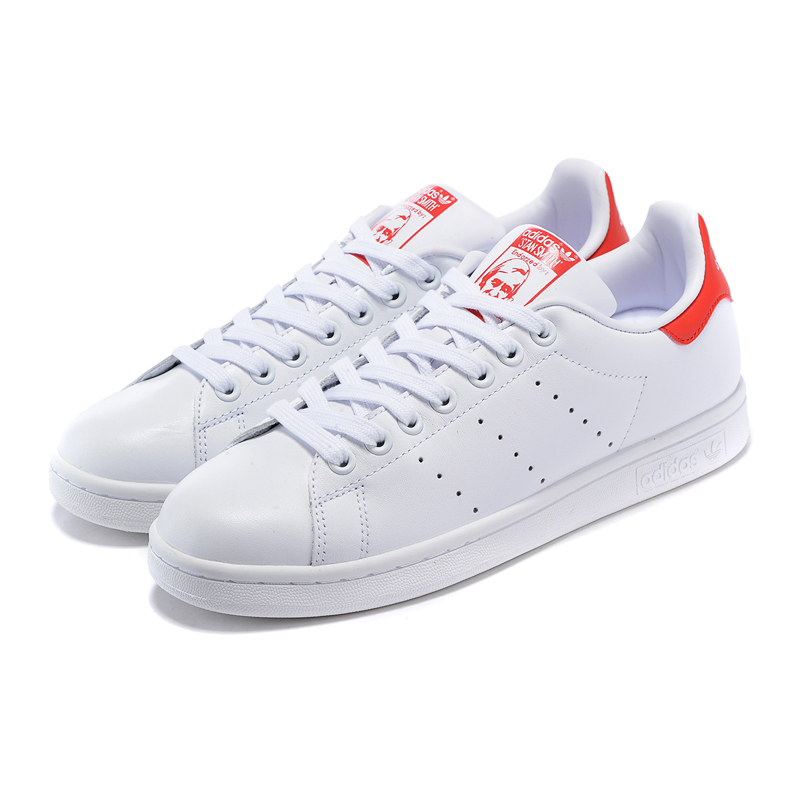 adidas stan smith womens red