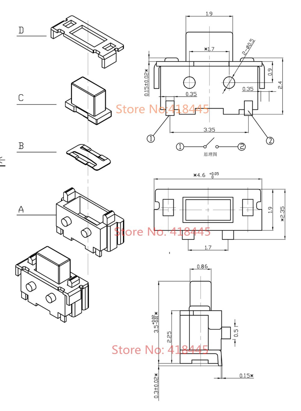 1 4 inch stereo trs female connector wiring diagram