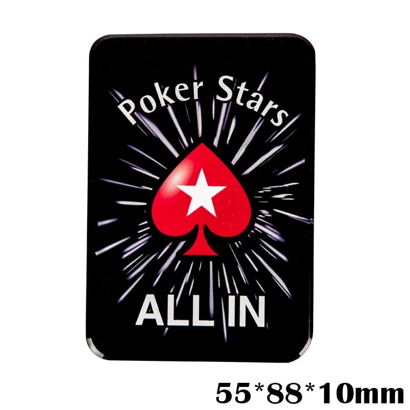 """""""Crystal PokerStars"""" pokerio žetonų prekeivio mygtukas ALL IN - Pramogos - Nuotrauka 3"""