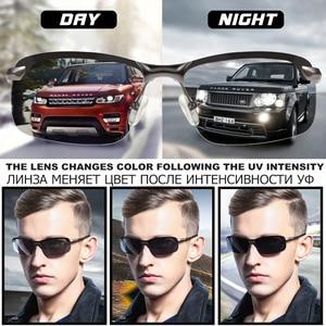 Image 4 - 2020 Nieuwe Mannen Fotochrome Gepolariseerde Zonnebril Uv Driving Eyewear Voor Mannen Vrouwen Drivers UV400 Zonnebril Mannelijke Bril