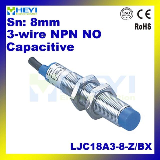 M18 kapazitiven näherungssensor LJ18A3 B Z/BX DC6 36V 3 draht no NPN ...
