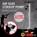 4500psi Air rifle Airrifle Air Gas Filling pump 3 Stage PCP Charging Stirrup Pump