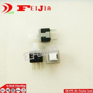20PCS 6 Pin Square 5.8mmx5.8mm New Product DPDT Mini Push Button Self Locking Switch