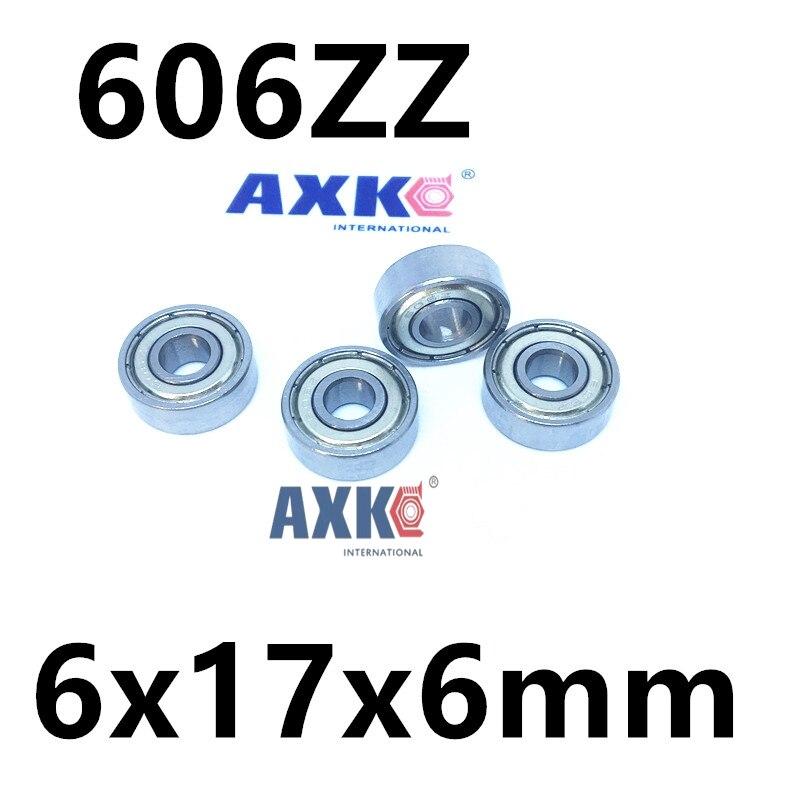 606-2Z 606ZZ 606 deep groove ball bearing 6x17x6mm miniature bearing 5pcs 628 2z zz bearings deep groove ball bearing 8 x 24 x 8mm