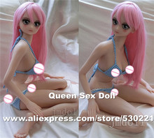 Top quality 80cm silicone real sex dolls, japanese anime love doll, real sex toy doll, vagina real pussy adult sex products