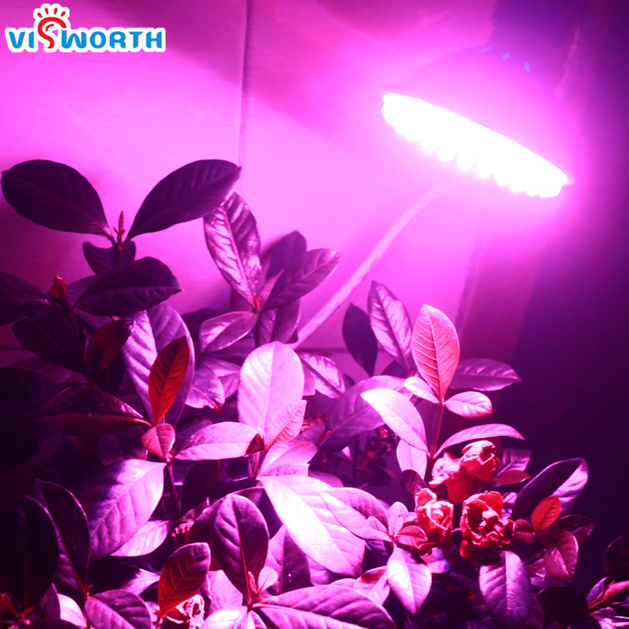 چراغ لامپ E27 LED Growlight AC 220V 240V 80pcs Leds LED چراغ قوه برای گیاهان سیستم هیدروپونیک گل گیاه