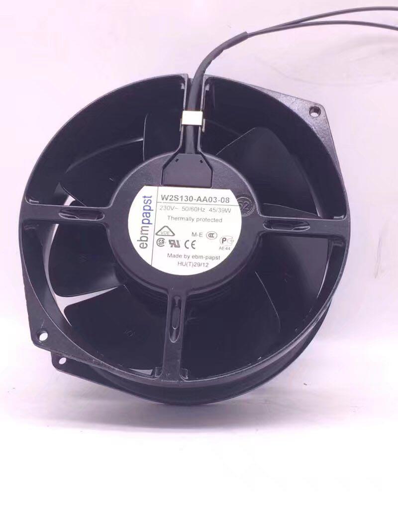 ebm-papst W2S130-AA03-08 AC 230V 45/39W 170X150X55mm Server Round Cooling Fan
